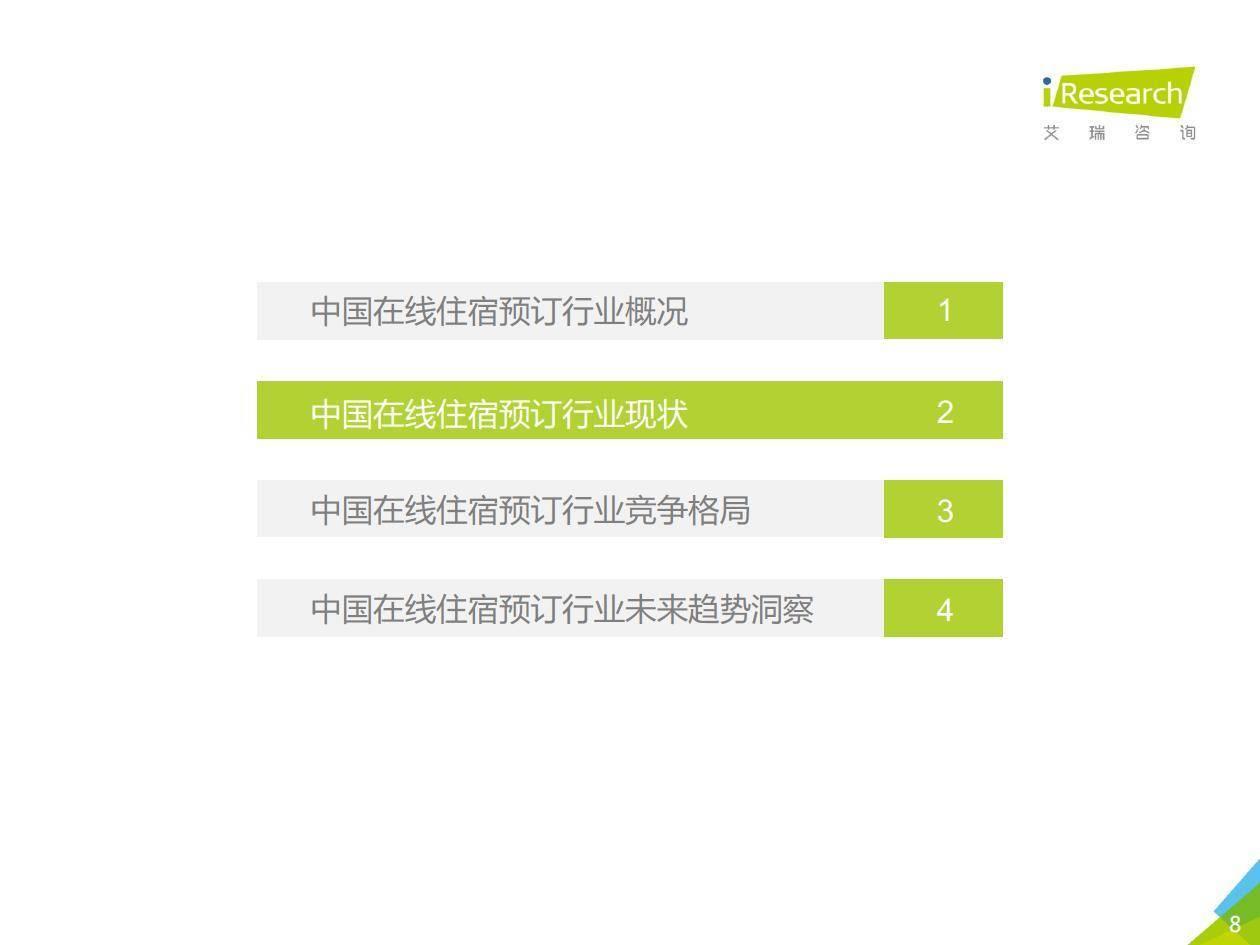 艾瑞咨询:2019年中国在线住宿预订行业研究报告