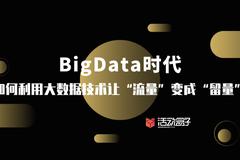 "BigData時代,如何利用大數據技術讓""流量""變成""留量""?"