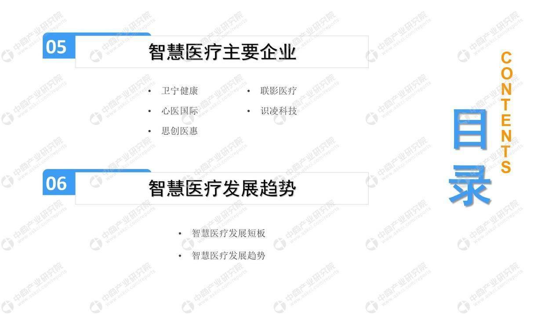 中商智库:2019年中国智慧医疗行业市场前景研究报告