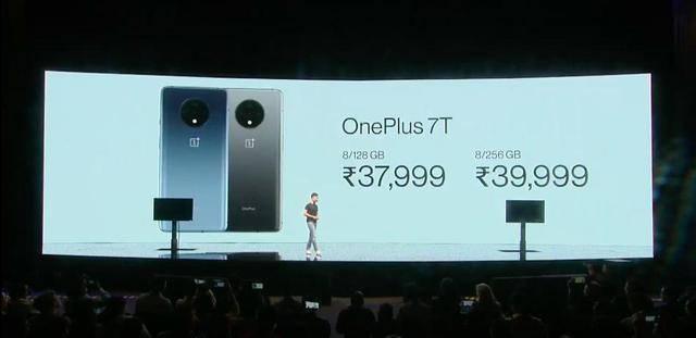 一加7T海外正式发布,90Hz屏幕+奥利奥三摄!