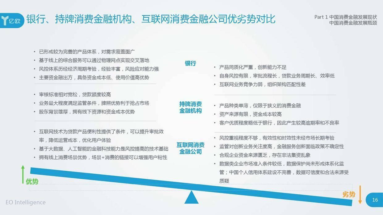 亿欧智库:2019消费金融创新模式研究报告