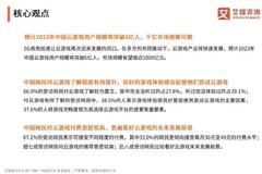 艾媒報告:2019中國云游戲行業專題研究報告
