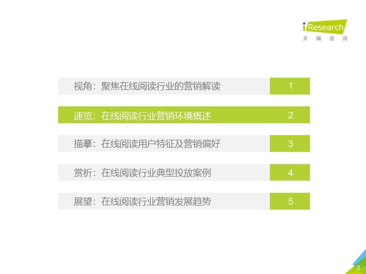 艾瑞咨询:2019年中国在线阅读行业营销报告