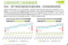 艾瑞咨詢:2019年中國互聯網實用工具企業營銷策略白皮書