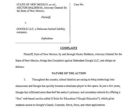 两名小学生状告谷歌非法收集隐私,官方未予置评,网友:见惯不怪!