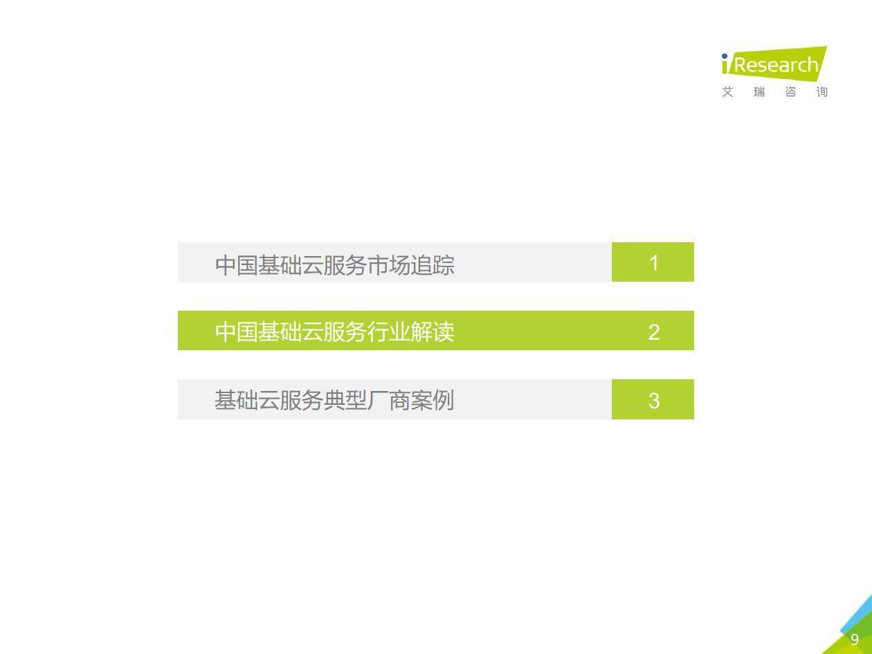 艾瑞咨询:2020年中国基础云服务行业发展洞察