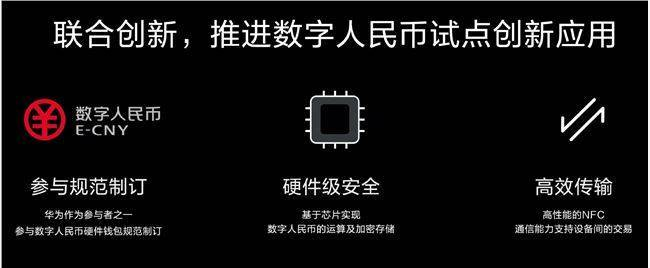 余承东:华为Mate40系列是首款支持数字人民币硬件钱包的智能手机
