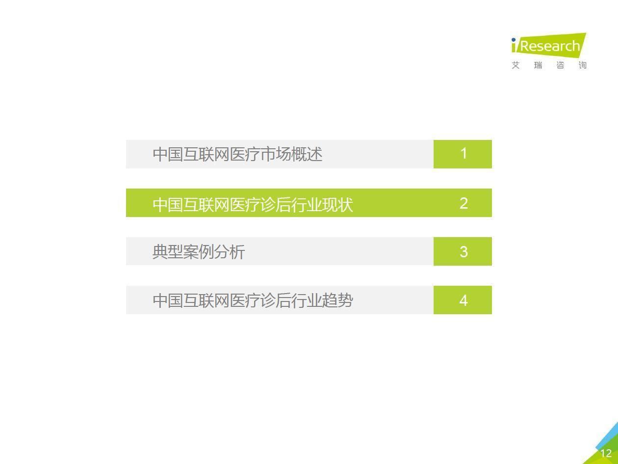 艾瑞咨询:2020年中国互联网医疗诊后行业白皮书