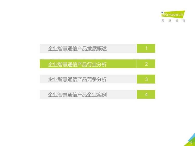 艾瑞咨询:2021年中国企业智慧通信产品研究报告