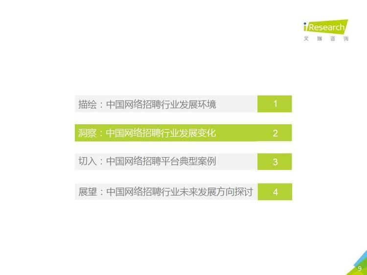 艾瑞咨询:2021年中国网络招聘行业市场发展研究报告