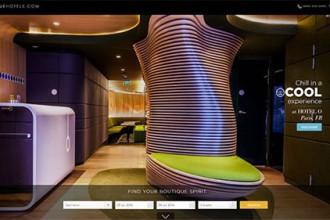 很想去一次!19个美丽的度假酒店网站