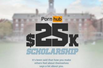 色情网站问你一个问题,答得好就有25000美元奖学金