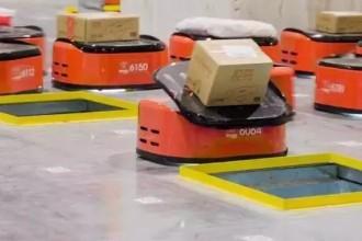 未来快递小哥真的要失业了!刘强东宣布全球首个无人货仓,几千平米的仓库里面空无一人!