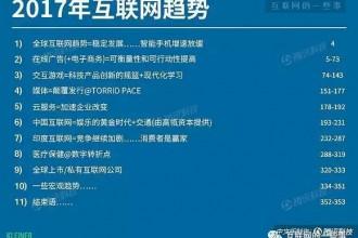 附下载!2017互联网女皇报告中文完整版发布