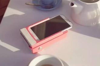 prynt可以打印照片的手机壳,让手机秒变拍立得